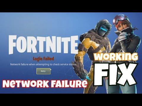 NETWORK FAILURE WHEN ATTEMPTING TO CHECK SERVICE STATUS *FIX*