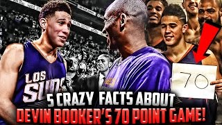 5 FACTS About Devin Booker's 70 POINT GAME!!