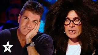 Simon Cowell Doesn't Look Impressed! | Magicians Got Talent