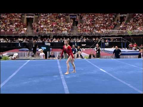 Ivana Hong - Floor Exercise - 2008 Olympic Trials - Day 2
