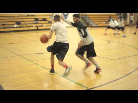 Maple High school senior boys dribbling and defensive intensity