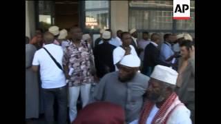 Comorans gather to show anger and sadness at Yemeni jet crash