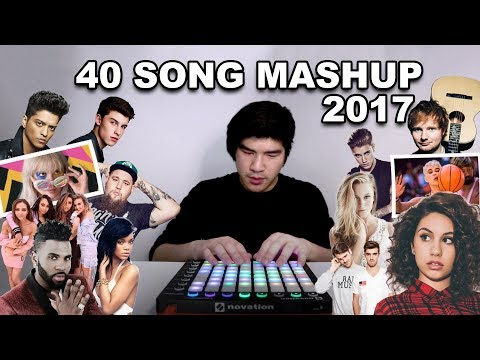 ULTIMATE 2017 MASHUP 40 HIT SONGS  Leslie Wai
