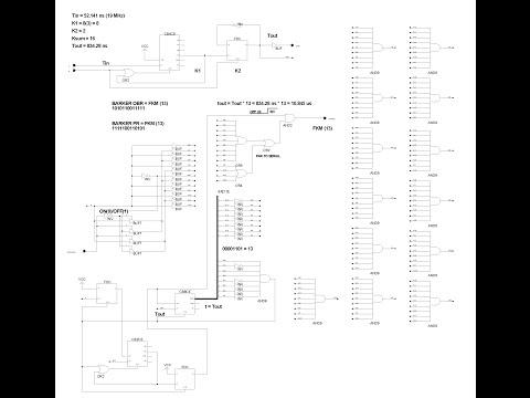 FCM radio pulse generator (Barker) on FPGA