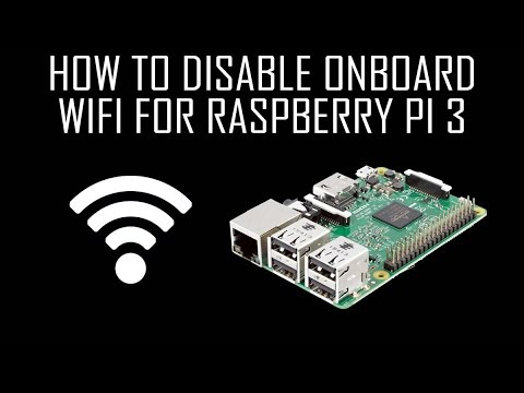 How to Disable Onboard WiFi for Raspberry Pi 3 - Dephace