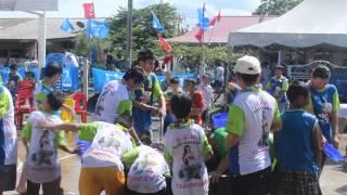 Songkran festival 2013 at Kemaman