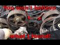 Worst 3000GT VR4 Timing Belt Service Part 2