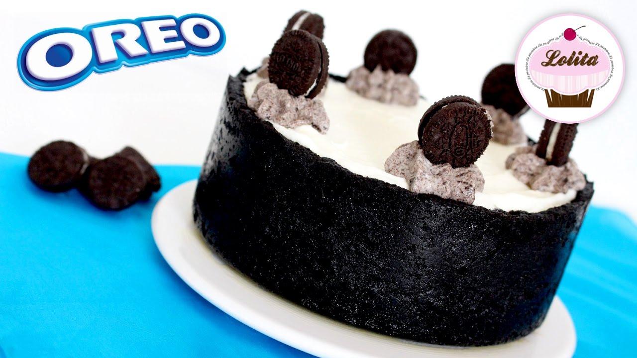 Receta de tarta de Oreo sin horno | Chesecake de oreo fácil y rápida