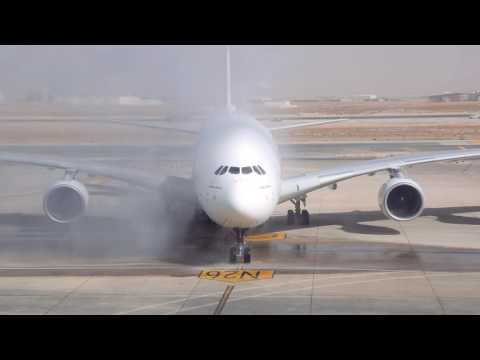 Emirates A380 lands in Amman | Emirates Airline
