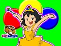 "Princess Colors ""Red Circle, Blue Circle"" 