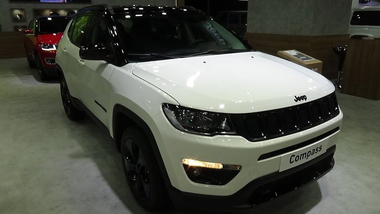 2019 Jeep Compass Night Eagle 1 4 Mair 140 Fwd Exterior And