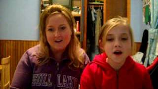 me and my mom singing jesus take the wheel by carrie underwood.avi