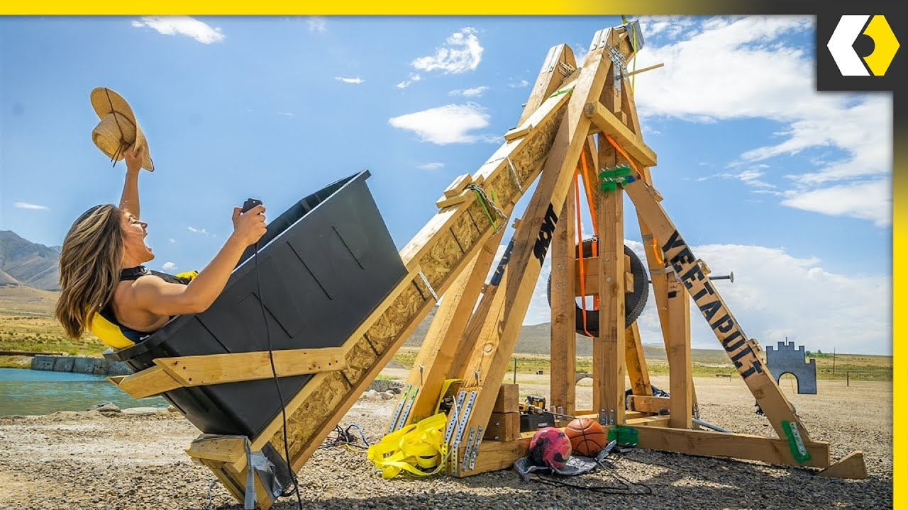 Download Would You Get In This HUMAN Catapult?