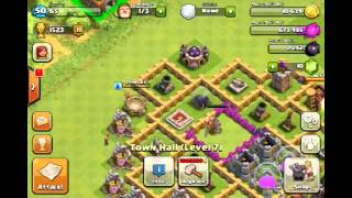 Clash of Clans Glitch!: How to get objects outside