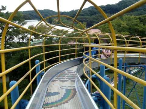 super duper long roller slide tokyo japan youtube