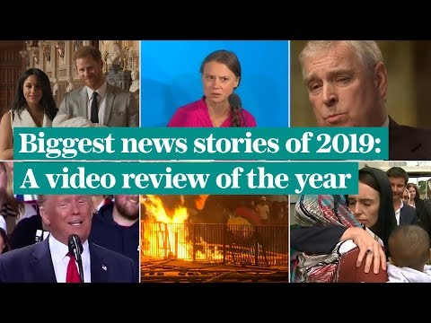 video: From Prince Andrew's interview, a landslide election and Trump's impeachment: The biggest stories of 2019