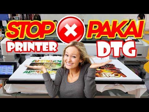 HASIL PRINTING KAOS DISTRO TERBAIK | Mesin Sablon Baju Digital | Printer DTG Epson
