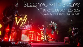 Sleeping With Sirens in Orlando, FL - Back To The Future Hearts Tour : The Grizzlee Grind