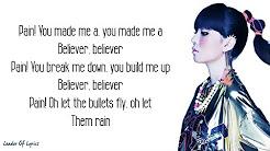 imagine dragons believer lyrics j fla - YouTube
