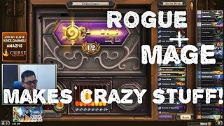Hearthstone Arena - 12 wins Amaz Dual Arena Run! Rogue-Mage.