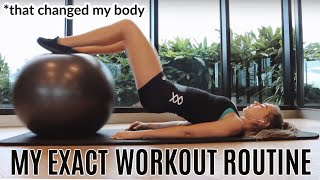 The Workout Routine That Changed My Body