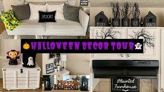 Halloween Decor Tour 2019 | Rae Dunn Halloween Collection