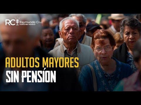 ADULTOS MAYORES SIN PENSIÓN!