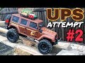 UPS Delivery Attempt #2 Customer Not home - Axial SCX10 Climb Trail Crawl
