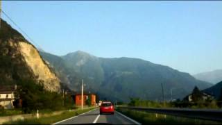 Campodolcino - Lecco (Time Lapse)