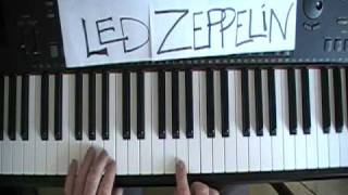 How To Play Led Zeppelin Kashmir on Piano