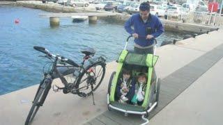 Comment je me suis cassée la gueule à vélo à Porquerolles avec les enfants