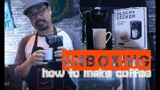 Black Decker Coffee Maker, alat kopi elektrik paling murah sejagat !