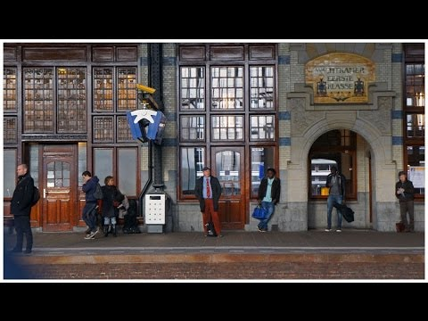Walking in Haarlem ( Netherlands )