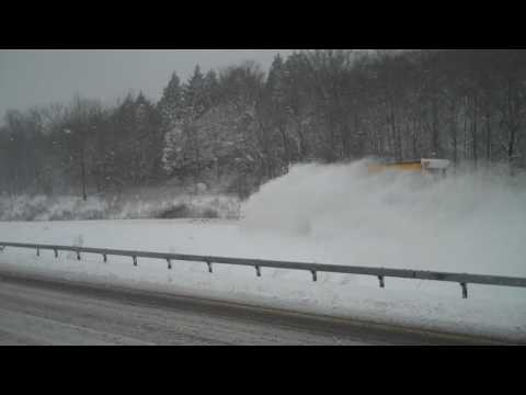 New York State Department of Transportation Snowplow