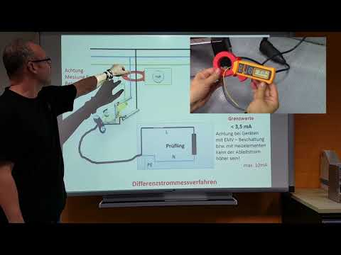 Prüfen elektrischer Geräte: Schutzleiterstrom(6)-Messung nach DIN VDE 0701-0702