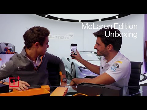 OnePlus 7T Pro McLaren Edition - Unboxed by McLaren F1 Drivers