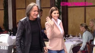 Mohamed Hadid & Shiva Safai Are A Cute Couple At Il Pastaio In Beverly Hills 5.13.15