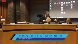 October 24, 2017 City Council Meeting
