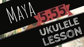 Maya (High Sessions) - UKULELE LESSON -5:55 - Nepali Song Ukulele Tutorial