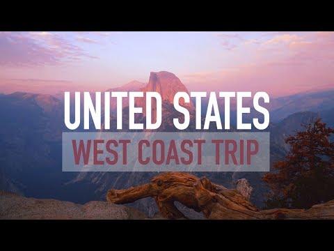 United States. West coast trip