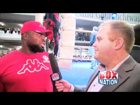 Highlight of an interview with Don Charles, Dereck Chisora's trainer - 16.02.12