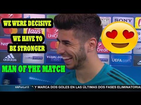 MARCO ASENSIO [POST MATCH INTERVIEW] BAYERN MUNICH VS REAL MADRID 1-2 (25/04/2018)