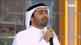 المنشد الإماراتي أسامة الصافي في صباح العربية