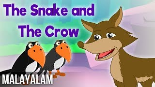 The Snake and The Crow   Panchatantra Stories In Malayalam   Magicbox