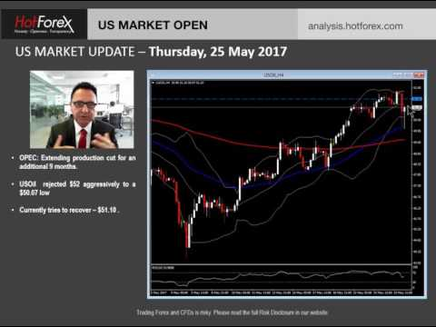 US Market Update | May 25, 2017