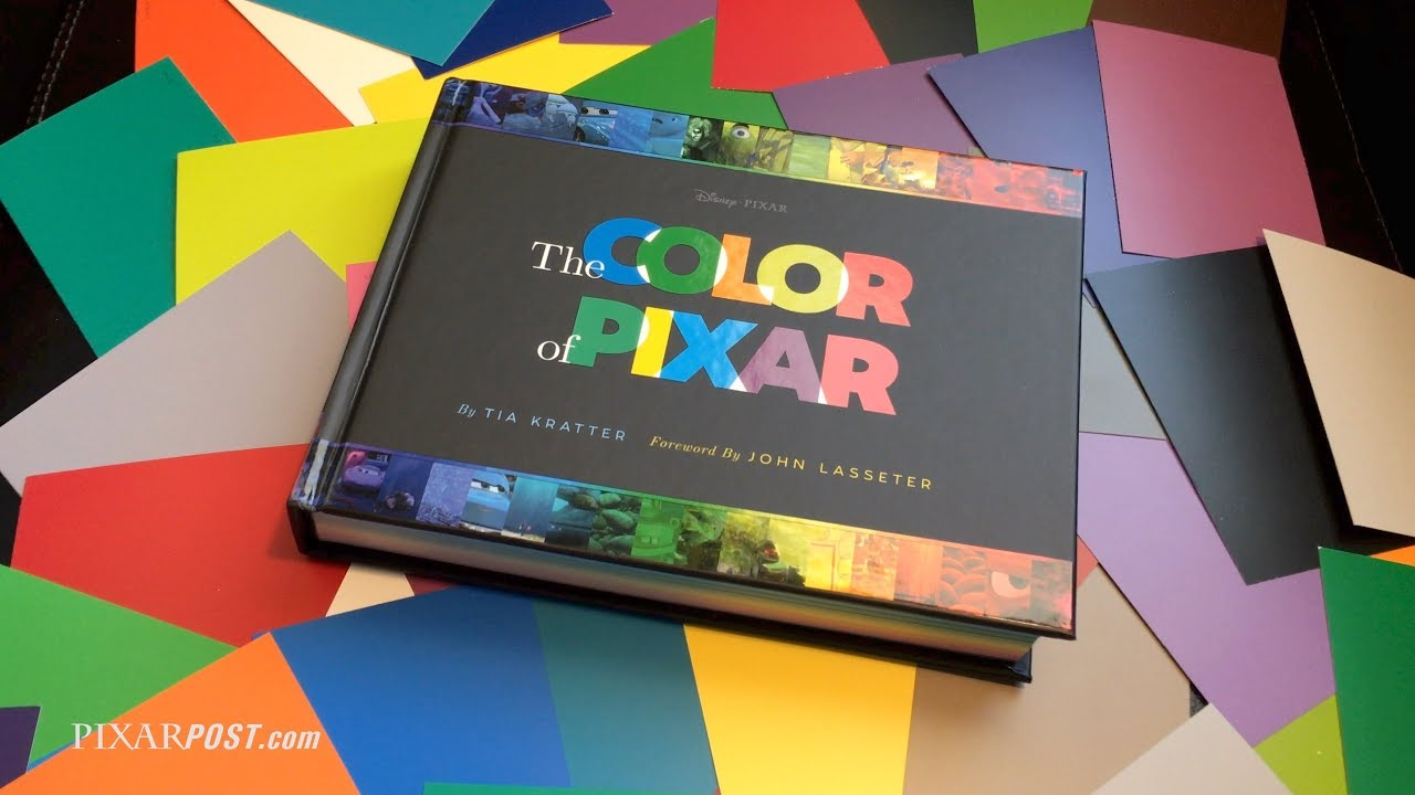 The Color of Pixar Video Book Preview - YouTube