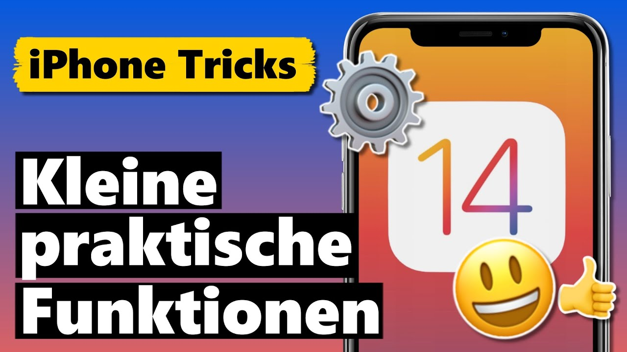 SEHR NÜTZLICHE kleine iOS 14 Funktionen & Einstellungen ⚙️😃👍