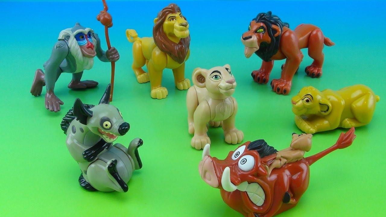 Disney Lion King Burger King Kids Meal Collection 1994