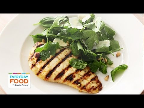 Lemon Chicken with Herb Salad Everyday Food with Sarah Carey