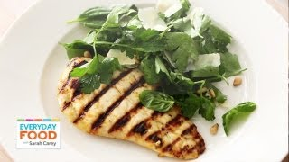 Lemon Chicken With Herb Salad - Everyday Food With Sarah Carey